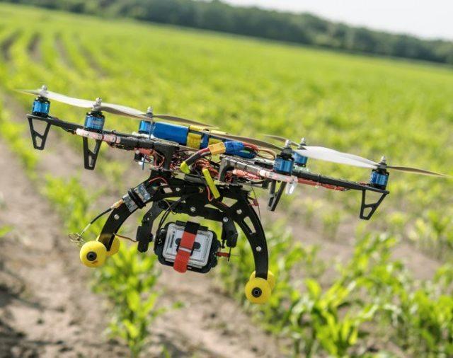 Мониторинг дронами